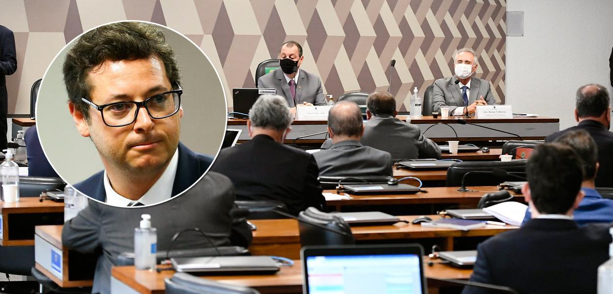 Fabio Wajngarten e a CPI da Covi