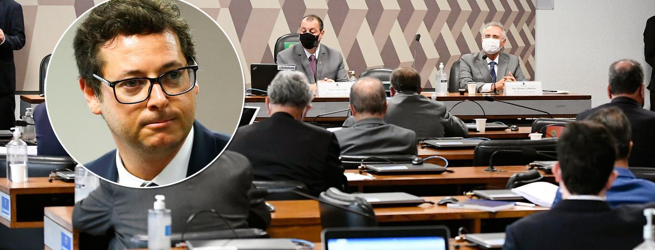 Fabio Wajngarten e a CPI da Covid