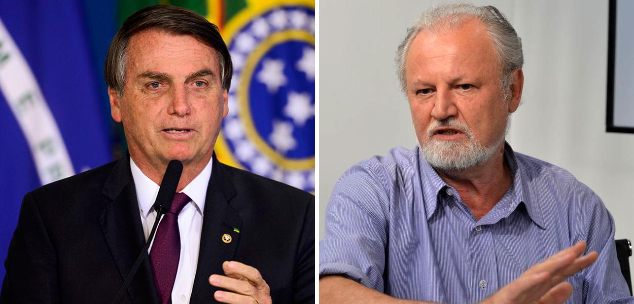 Jair Bolsonaro e João Pedro Stédile