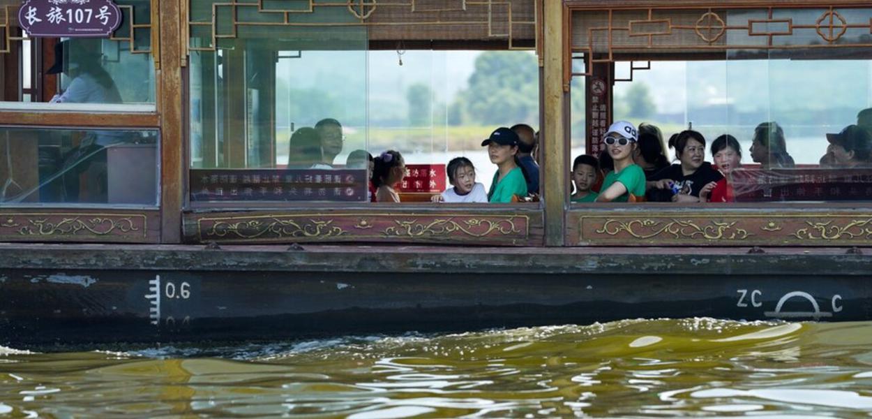 Turismo interno na China