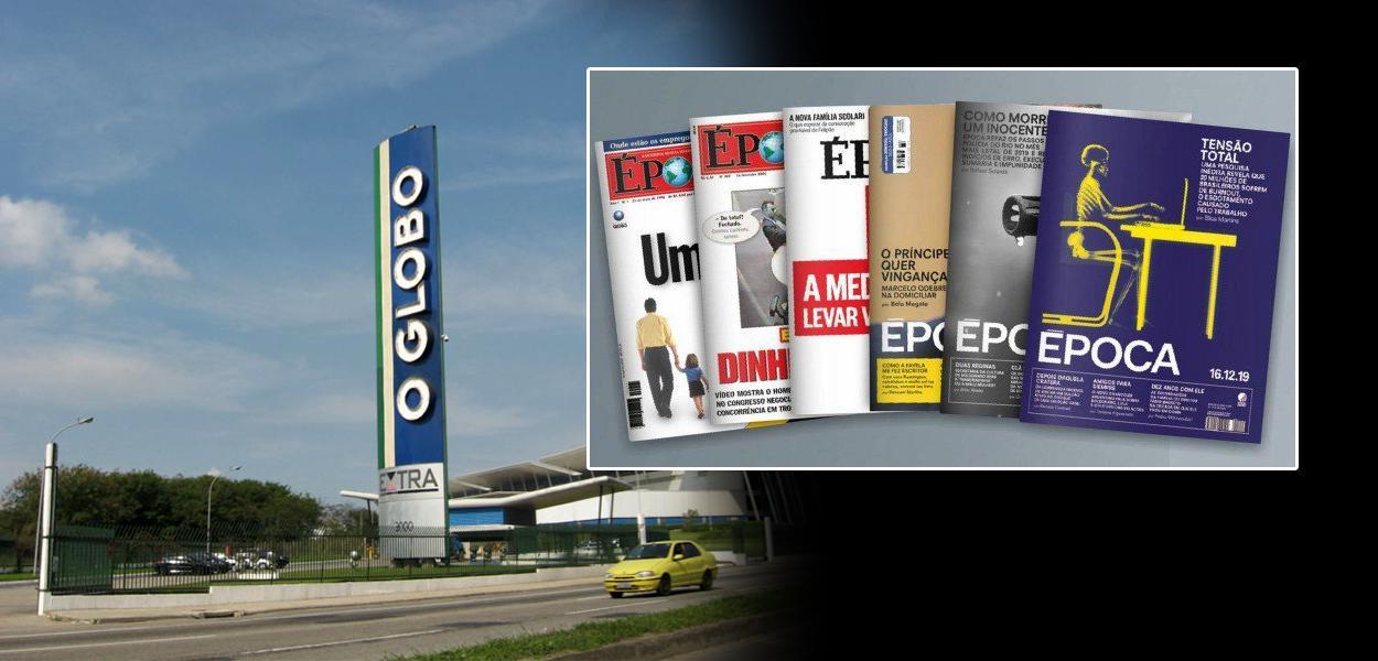 O site da revista Época migrará para o site do jornal O Globo