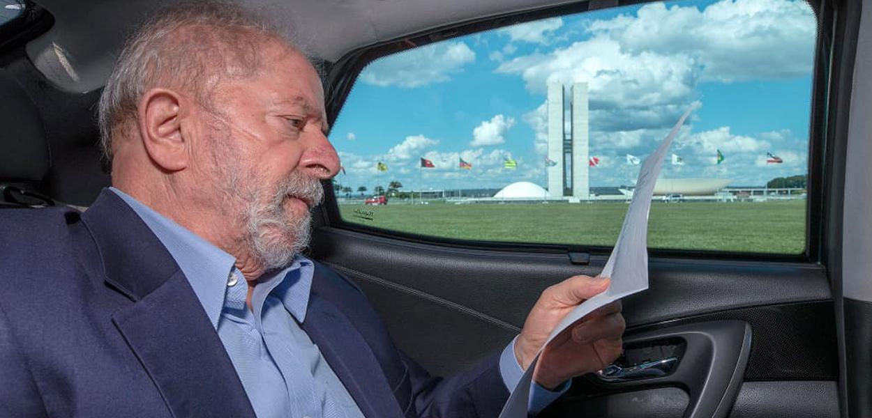 Ex-presidente Lula em Brasília