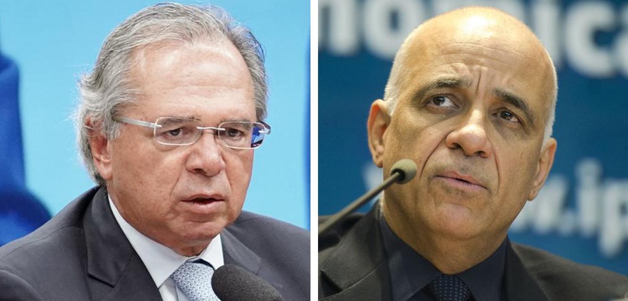 Paulo Guedes e Jessé Souza