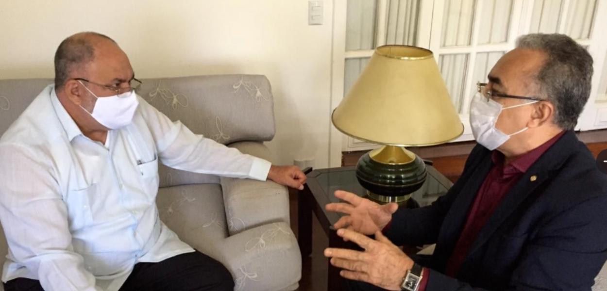 Rolando Antonio Gómes Gonzáles e Edmilson Rodrigues