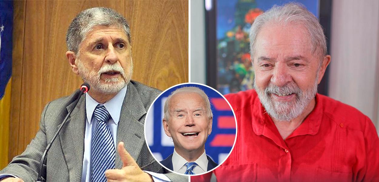 Celso Amorim, Joe Biden e Lula