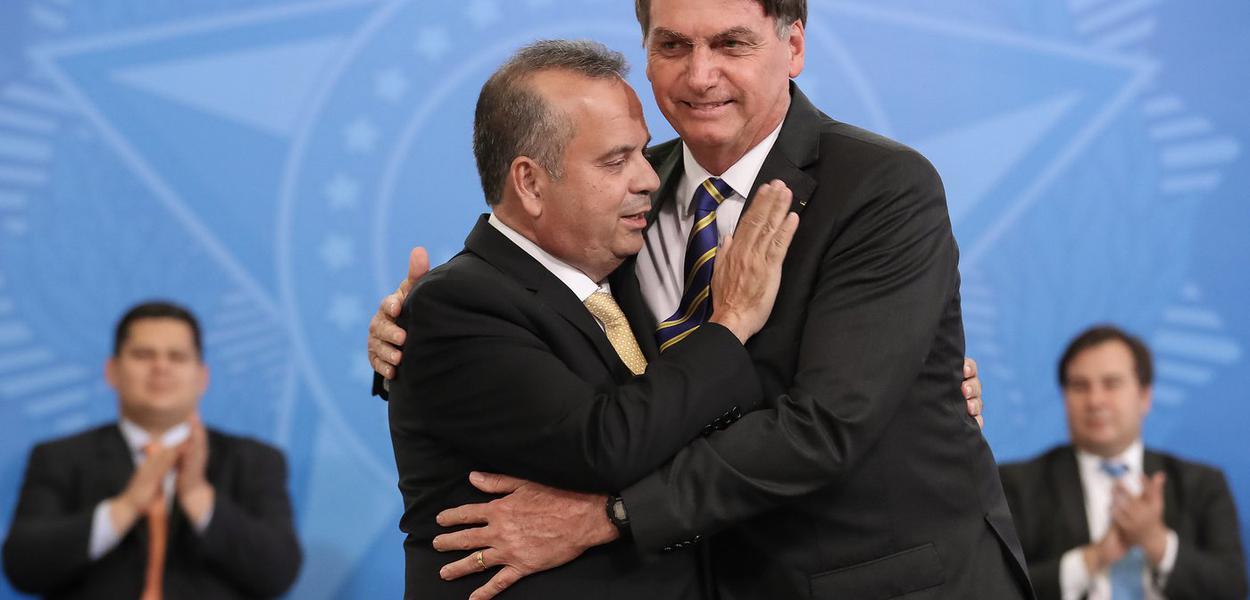 Rogério Marinho e Jair Bolsonaro
