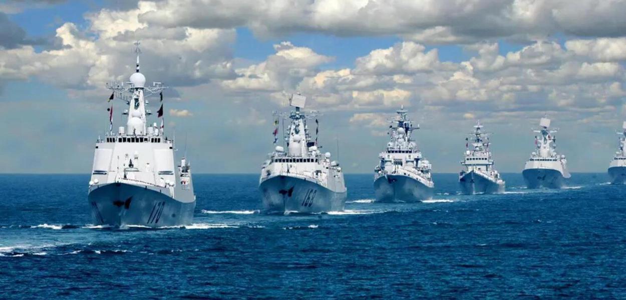 Frota naval chinesa