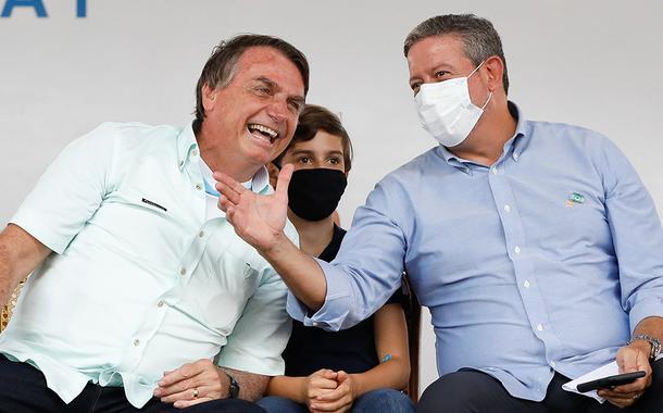 Jair Bolsonaro e Arthur Lira