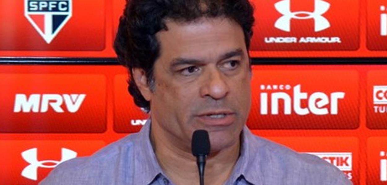 Raí, ex-jogador e diretor executivo de futebol do São Paulo