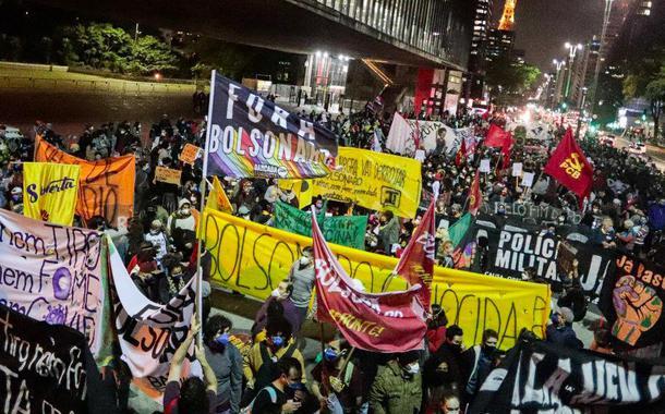 Manifestação do 13 de maio na Avenida Paulista