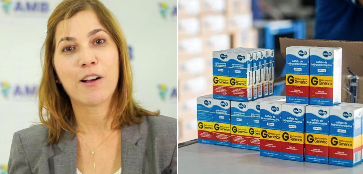 Mayra Pinheiro, a capitã cloroquina