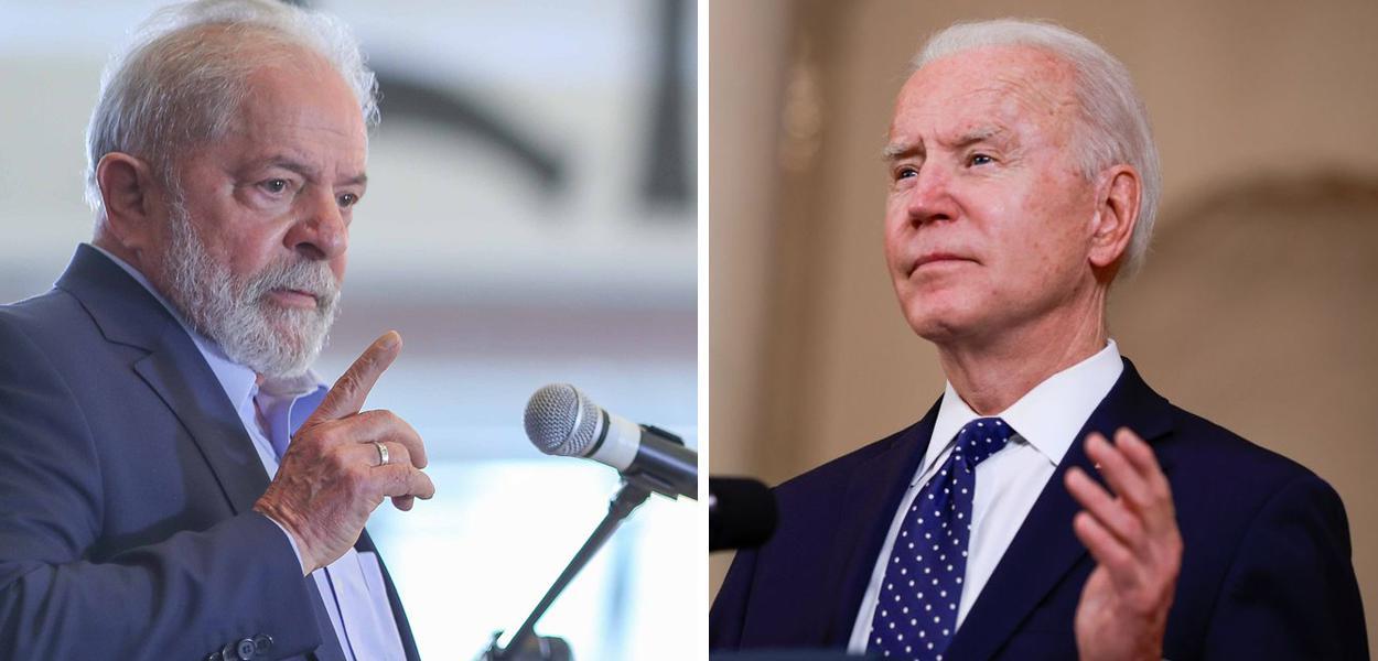 Lula e Joe Biden