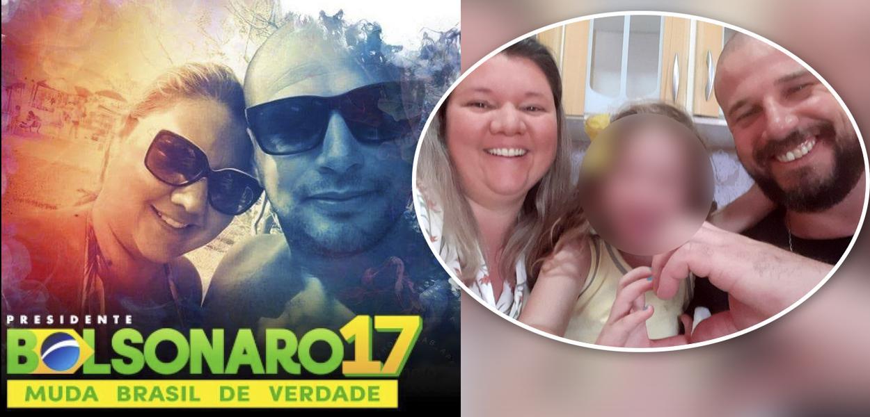 Militante bolsonarista Feliciano Rodrigues Candido Neto mata a esposa a facadas