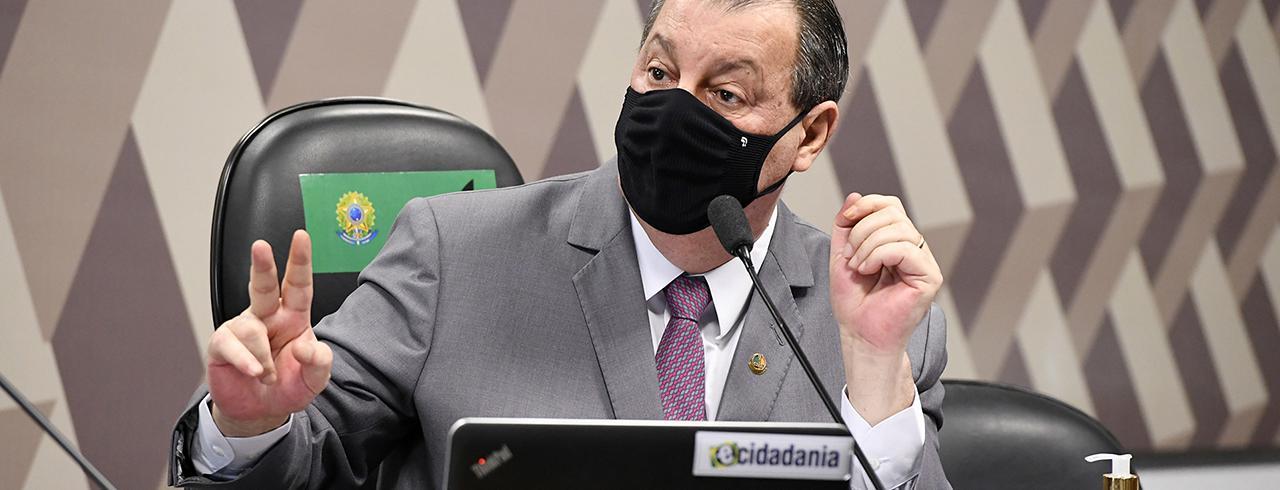 Presidente da CPI da Covid, Omar Aziz