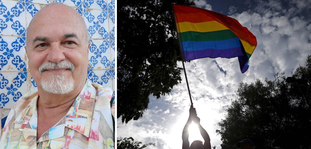 Professor Luiz Mott, fundador do Grupo Gay da Bahia