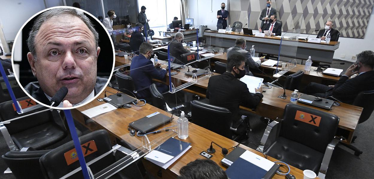 Eduardo Pazuello e a CPI da Covid