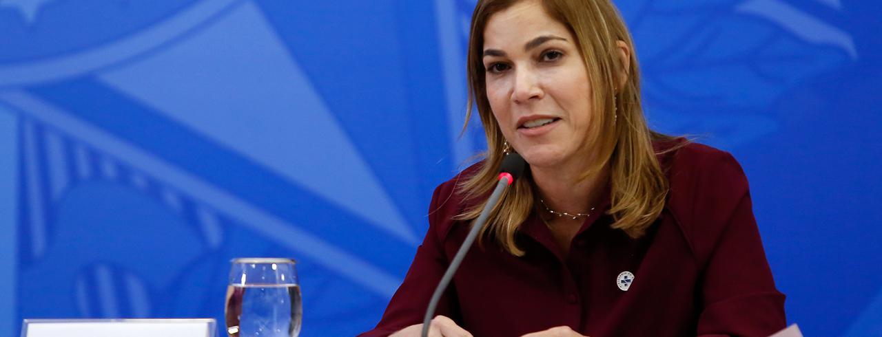 Palavras de Mayra Pinheiro, Secretária de Gestão do Trabalho e da Educação na Saúde do Ministério da Saúde. 15/06/2020