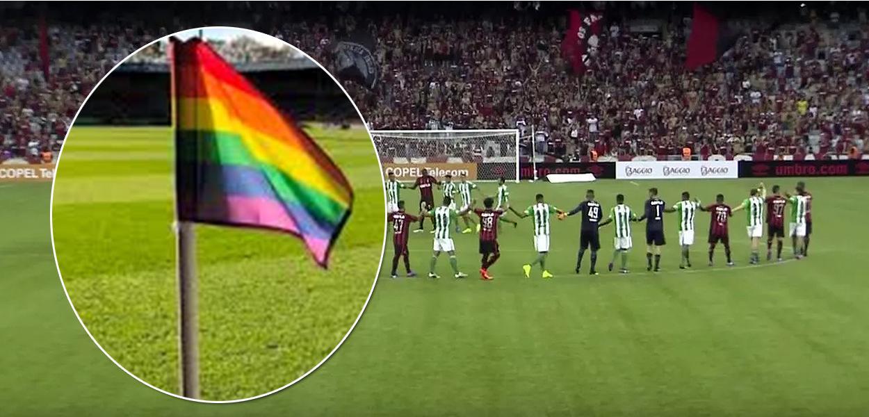 Clássico entre Atlético Paranaense e Coritiba