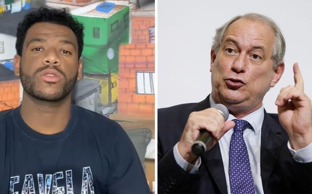 Rene Silva e Ciro Gomes
