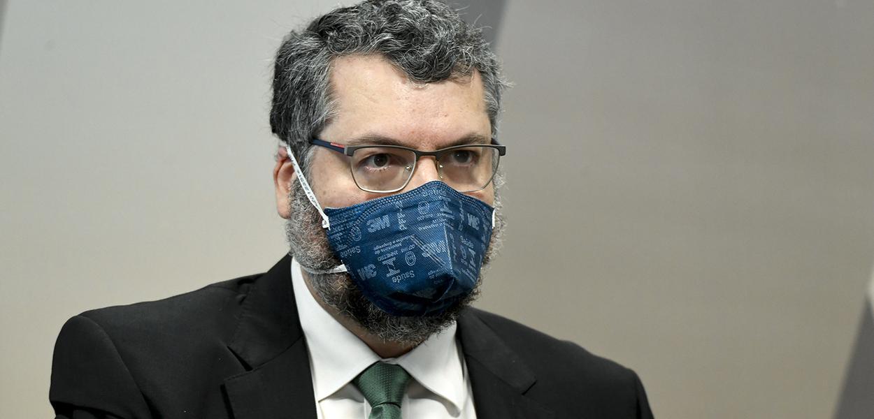 Ex-chanceler Ernesto Araújo