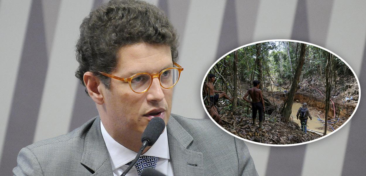 Ricardo Salles e garimpo em terras indígenas ianomâmis