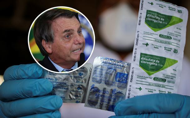Jair Bolsonaro e cloroquina