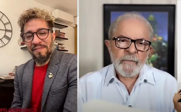 Jean Wyllys e Lula