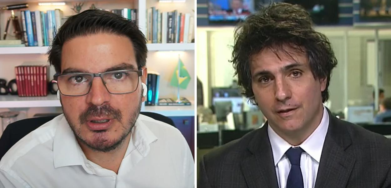 Rodrigo Constantino e Guga Chacra