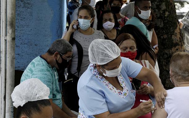 Vacinação contra Covid-19 em São Gonçalo, Rio de Janeiro