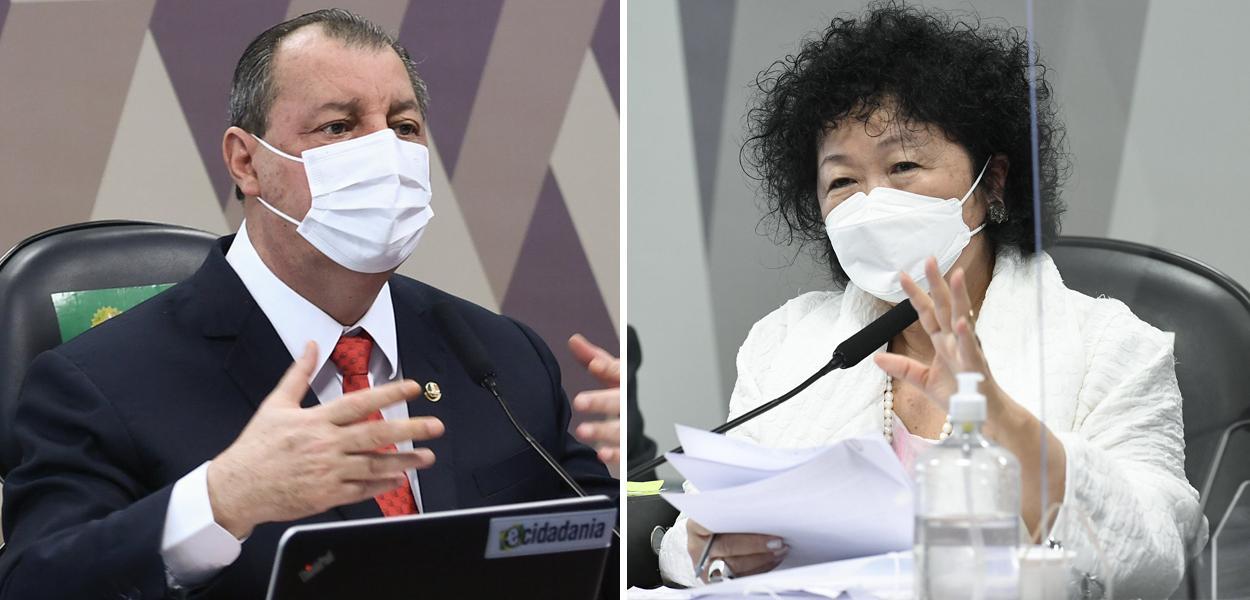 Omar Aziz e Nise Hitomi Yamaguchi