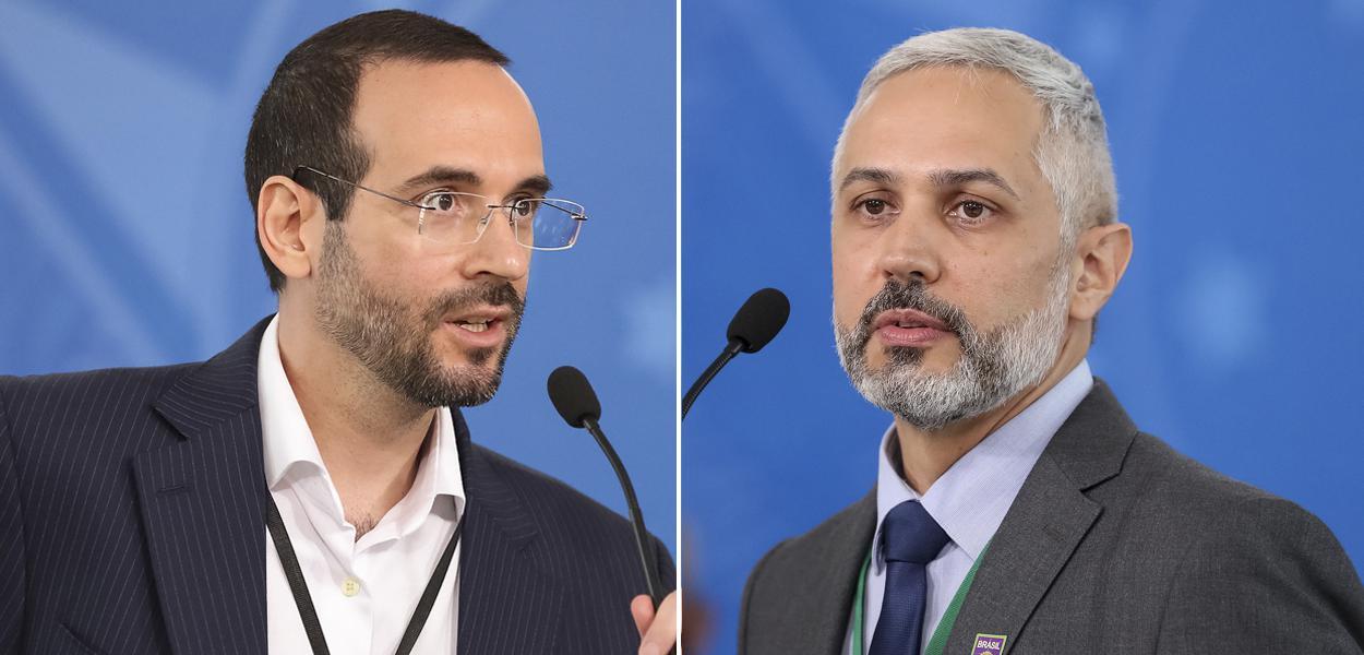 Arthur Weintraub e Luciano Dias Azevedo