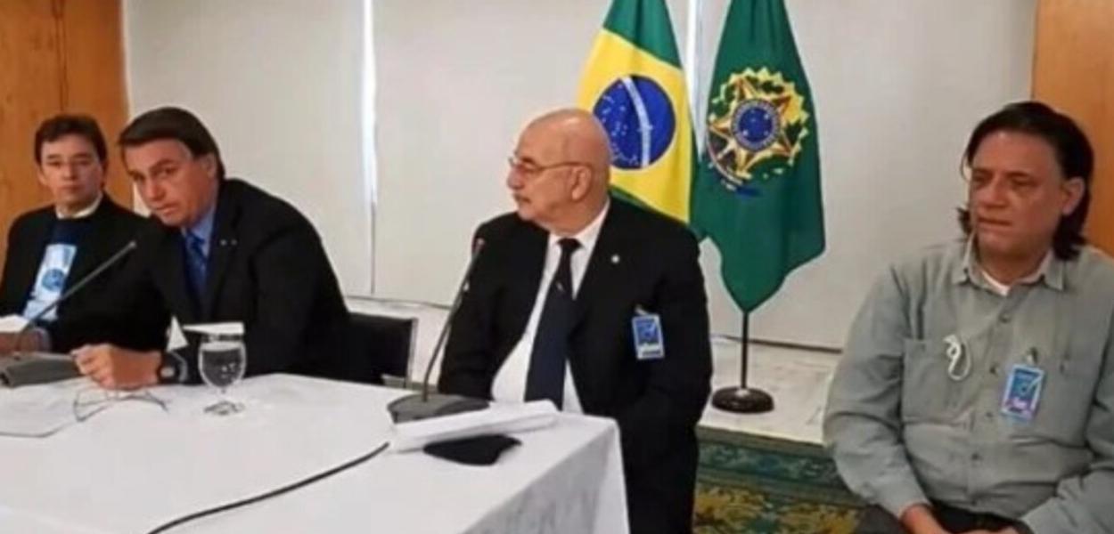 Jair Bolsonaro, Osmar Terra e Paolo Zanoto