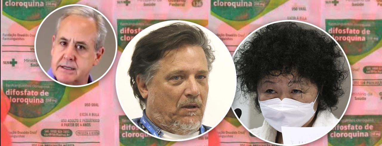 Joaquim de Carvalho, Paolo Zanotto e Nise Yamaguchi