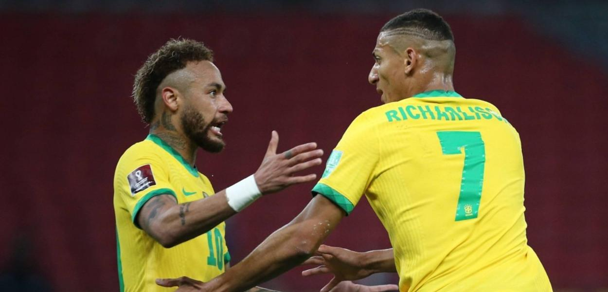 Neymar Jr. e Richarlison