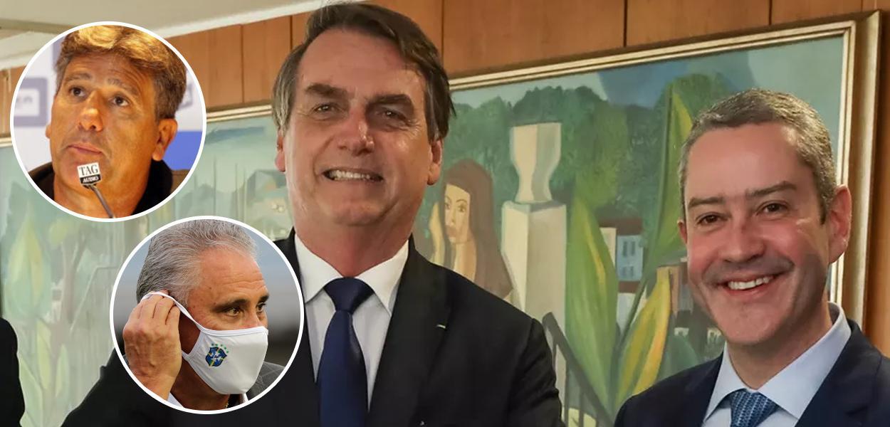 Acusado de assédio sexual, Caboclo promete ao governo a troca de Tite pelo bolsonarista Renato Gaúcho na terça
