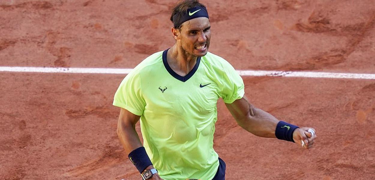 Nadal vence na estreia em Roland Garros
