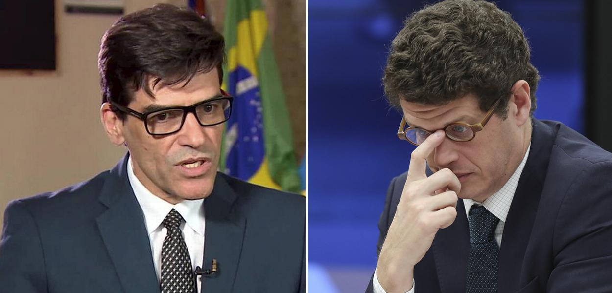Delegado Alexandre Saraiva e Ricardo Salles