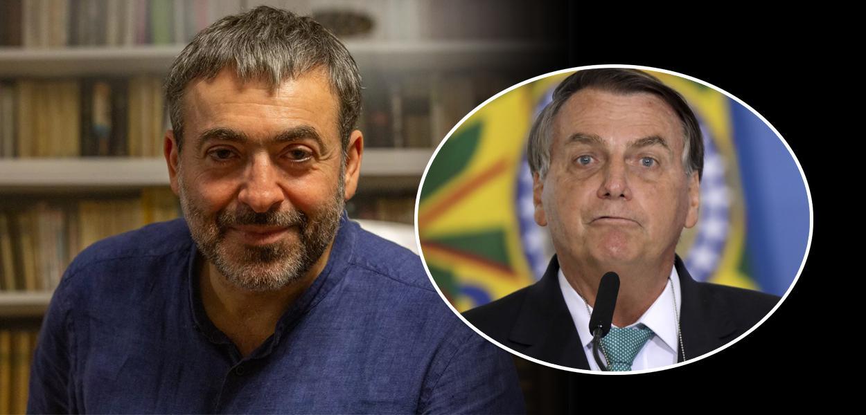 Marcos Nobre e Bolsonaro