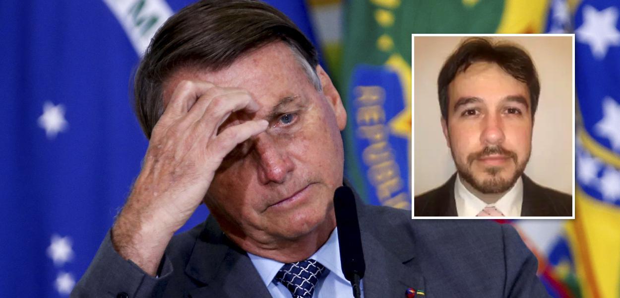 Bolsonaro e Alexandre Figueiredo