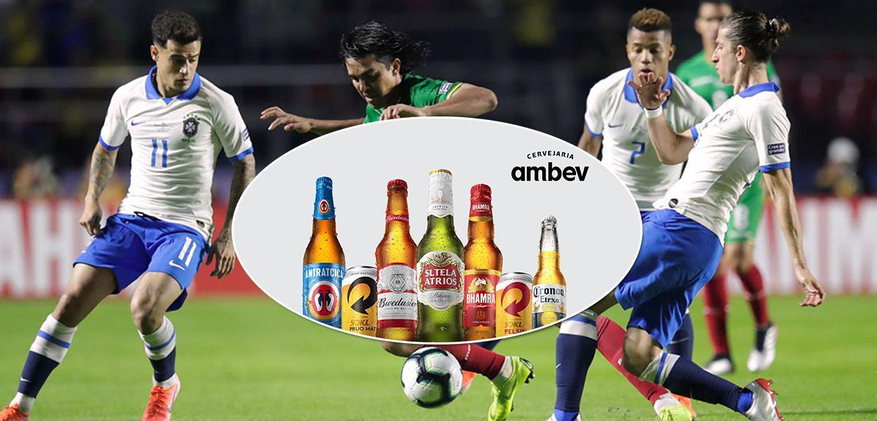 Ambev desiste de veicular publicidade na Copa América no Brasil