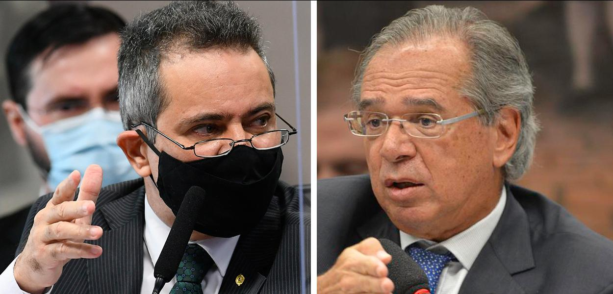 Élcio Franco e Paulo Guedes