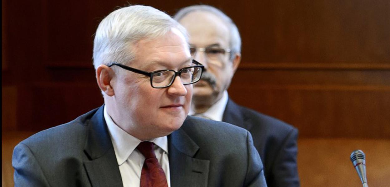Vice-ministro das Relações Exteriores russo, Sergei Ryabkov
