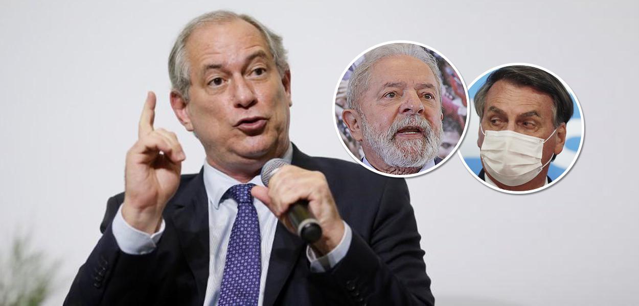 Ciro Gomes, Lula e Bolsonaro
