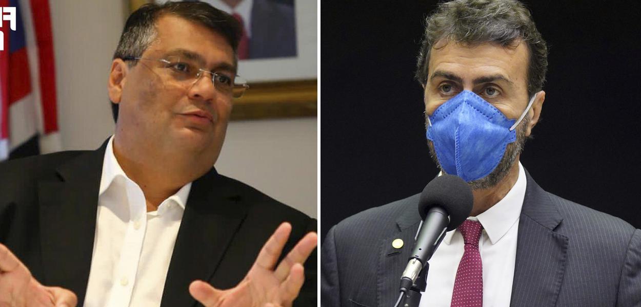 Flavio Dino e Marcelo Freixo