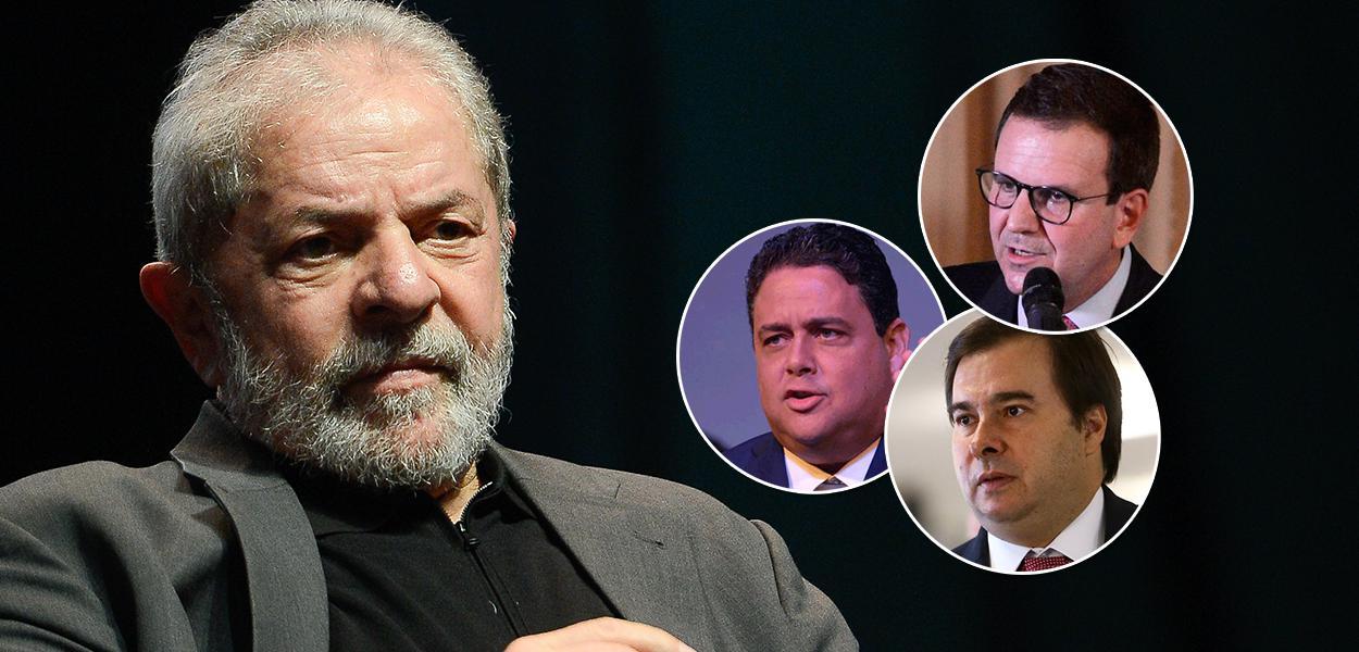 Lula, Santa Cruz, Paes e Maia