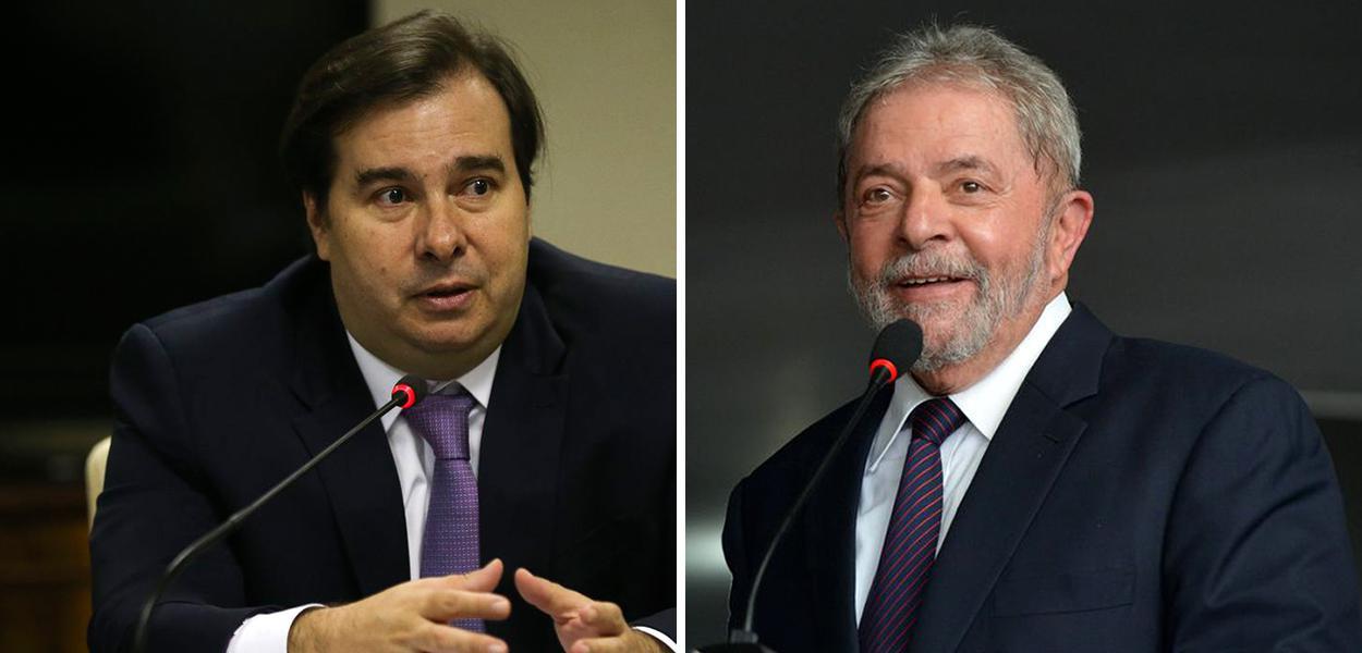 Rodrigo Maia e Lula