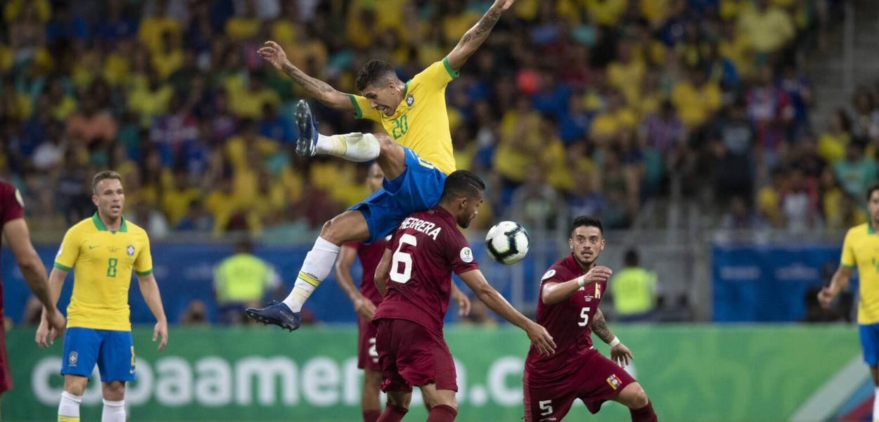 Brasil x Venezuela na Copa América 2019
