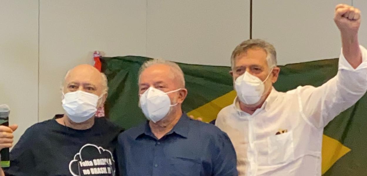 Tonico Pereira, Lula e Zé de Abreu