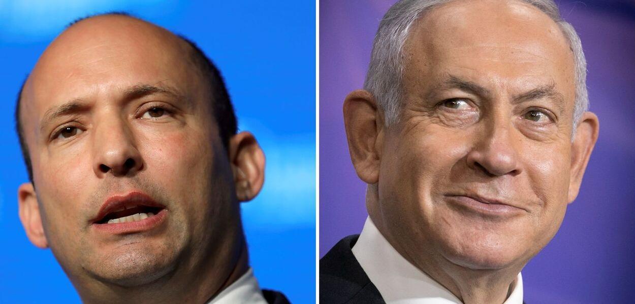 Naftali Bennett e Benjamin Netanyahu