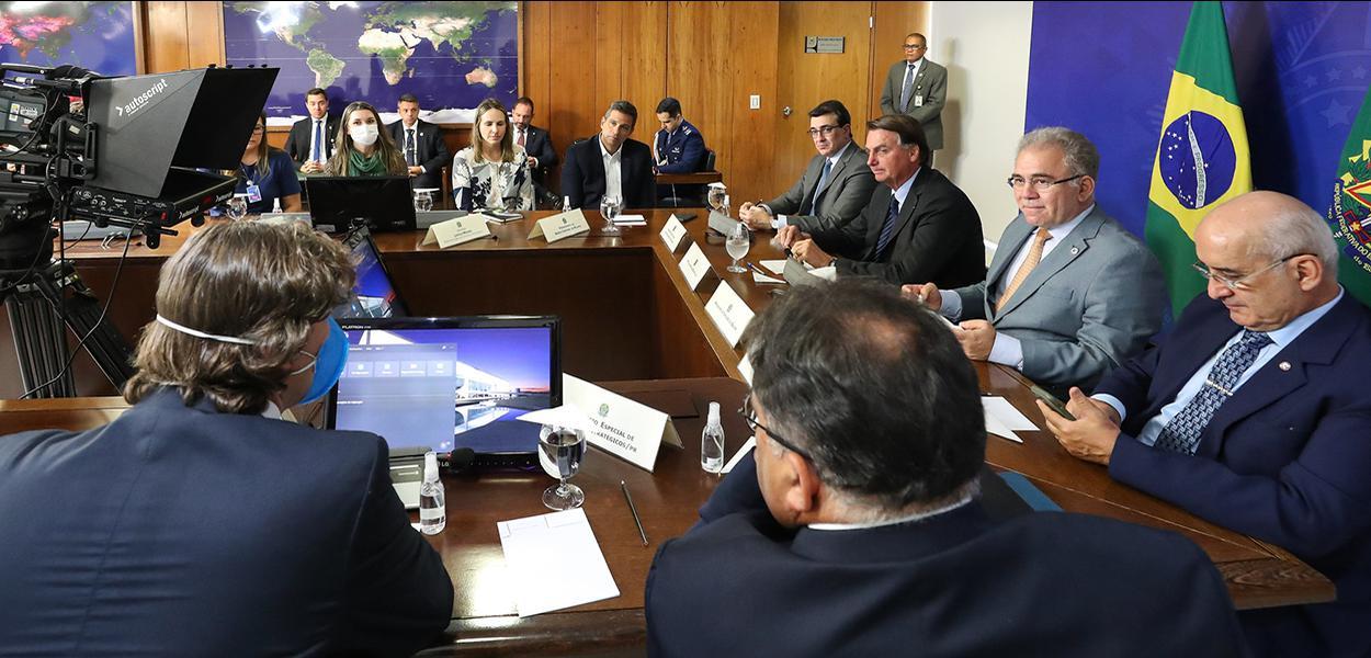Reunião do Planalto com a Pfizer